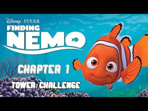 New Chapter 1 Finding Nemo Tower Challenge !! Playing Disney Magic Kingdoms |