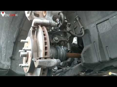 How to change brake pads Mitsubishi