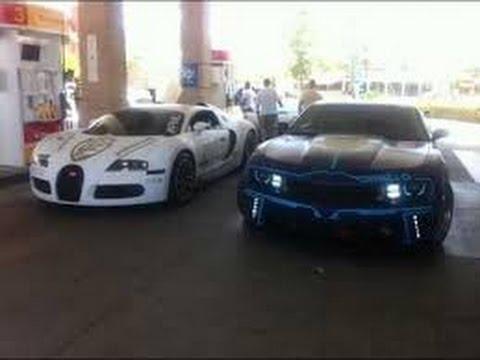 Bugatti vs camaro