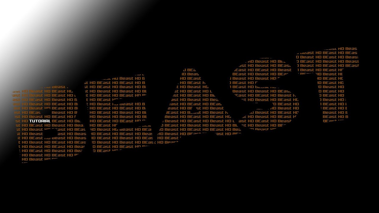 Tutorial: Really Easy to Make, Cool Typography Text Effect ...