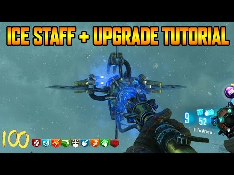 ORIGINS REMASTERED - ICE STAFF BUILD + UPGRADE TUTORIAL GUIDE (Black Ops 3 Zombie Chronicles)