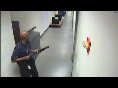 Terror on tape: Navy Yard security video released