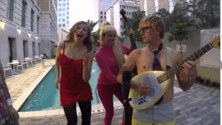 "Lake Street Dive Plays ""Love Shack.""  Happy Halloween!"