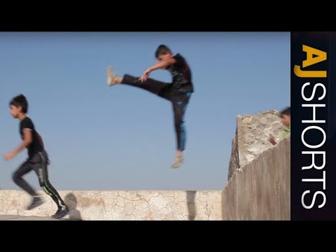 🇮🇶 Parkour brings Iraqis together | AJ Shorts