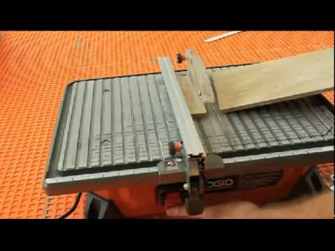RIDGID Wet Saw Review