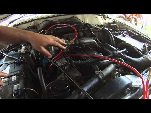 nissan patrol lacking in power - YouTube