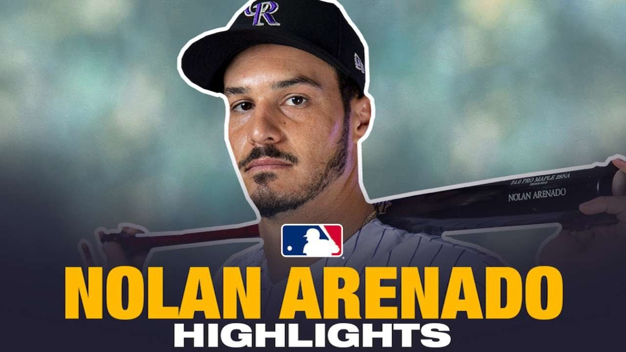 Nolan Arenado Career Highlights: Here's why he got that record extension