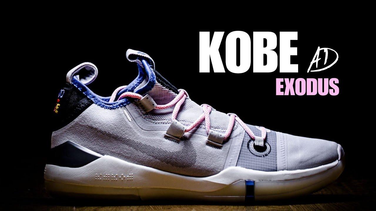 KOBE AD EXODUS 'SOFT PINK' UNBOXING +
