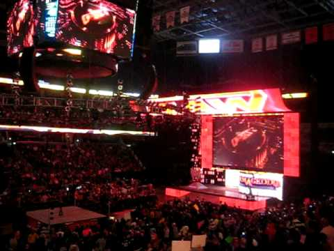 WWE RAW Open At Verizon Center