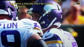 Daniel Carlson #7  3missed field goal attempts Vikings/Packers