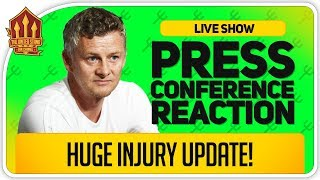 SOLSKJAER Press Conference Reaction! MAN CITY vs MAN UTD