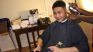 BEST ASIAN HAIRCUT: CONTOURED MID FADE