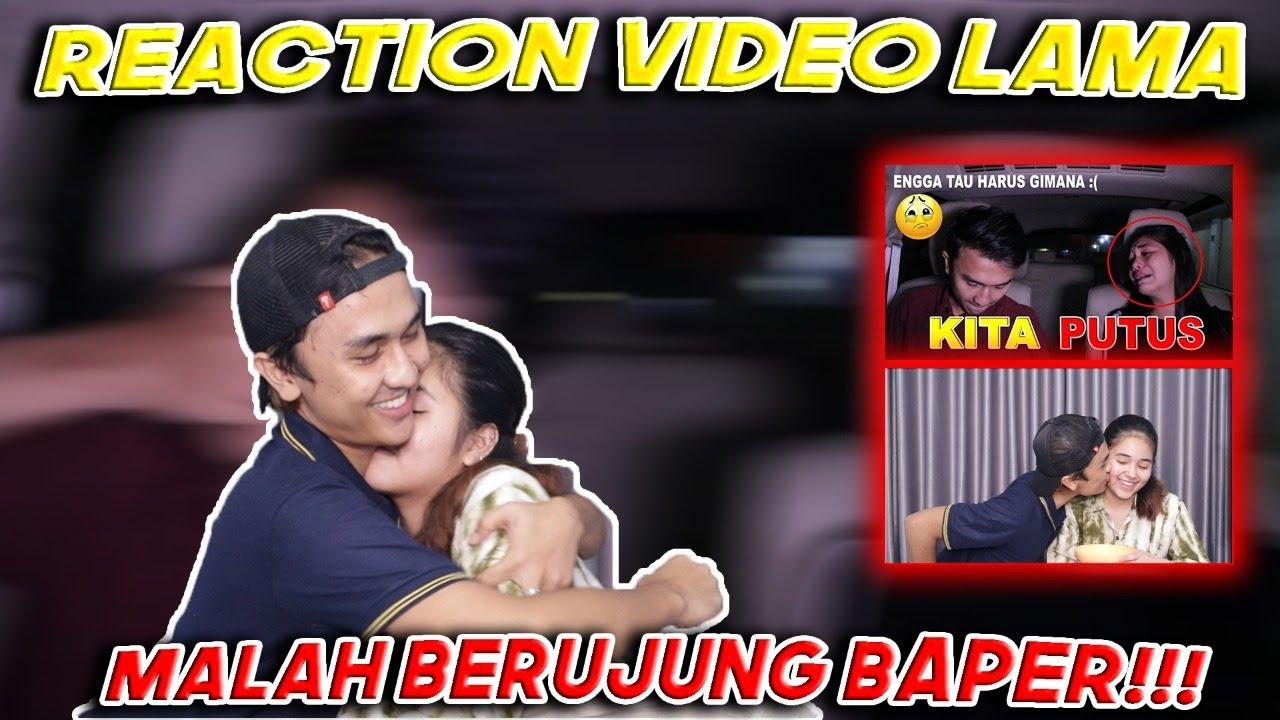 REACTION VIDEO LAMA - HANNA MALAH BAPER!!! *TERNYATA GUA DULU GANTENG