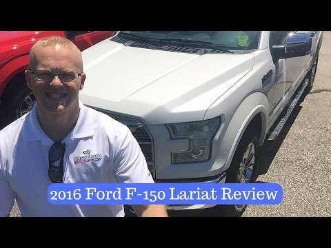 2016 Ford F-150 Lariat Interior Review by Alex Buker at Andy Mohr Ford Plainfield Indiana IN