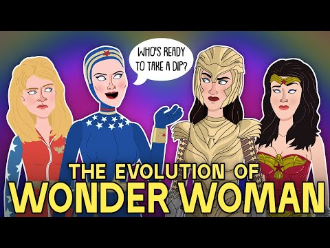 The Evolution of Wonder Woman (Animated)