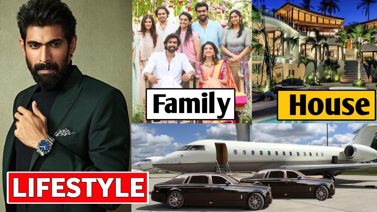 Rana Daggubati Lifestyle 2020, Income, House, Wife, Cars, Family, Biography & Net Worth
