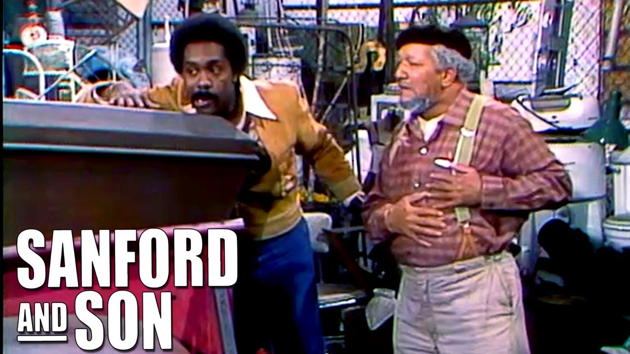 Lamont Becomes A Coffins Seller | Sanford and Son