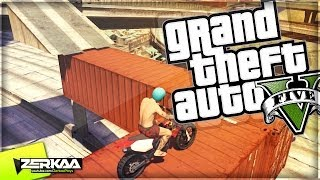 "GTA 5 Online Funny Moments | ""TRIALS TRACK & TAKESHI'S CASTLE"" 