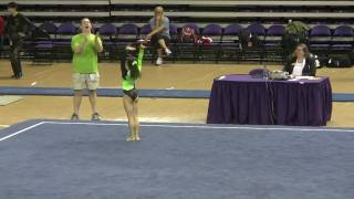 Sydney Converse's Gymnastics Floor Routine - Level 10 Regional Championships - Age 12