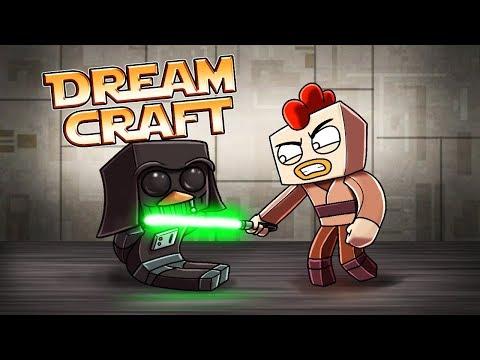 Minecraft | Dream Craft - EVIL Jedi Cages Darth Penguin! (Star Wars Movie)
