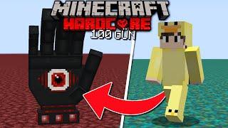 100 Gün Minecraft ama Her Gün FARKLI MOBA Dönüşüyorum... (part 1)