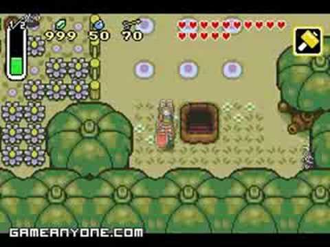 A Link to the Past - Tempered Sword & Other Items