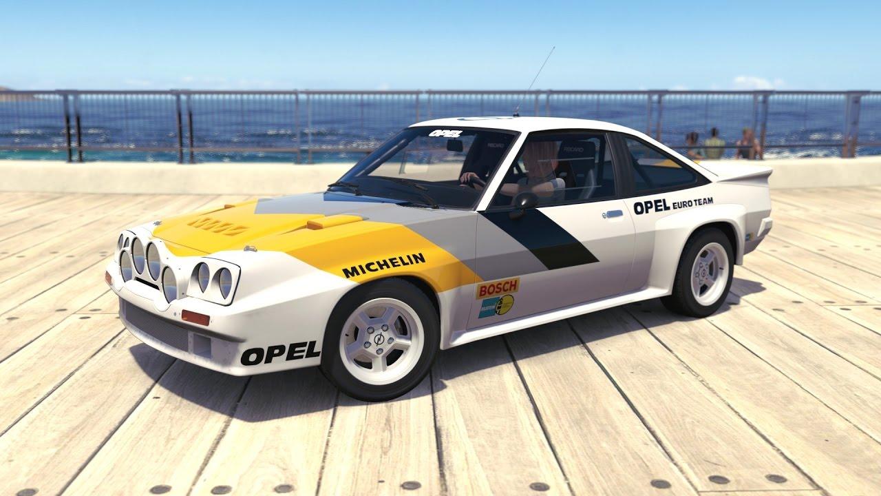 Forza Horizon 3 - 1984 Opel Manta 400 - YouTube