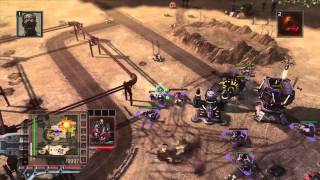 Command and Conquer 3: Tiberium Wars (Xbox 360) - Hard AI Skirmish Match - NOD VS NOD