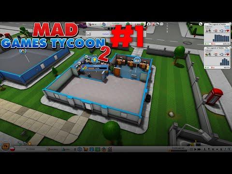 Pierwsze gry - Mad Games Tycoon 2 #1 |