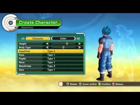 Dragon Ball Xenoverse lore friendly hair pack Mod [PC]