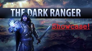 Middle Earth: Shadow of Mordor Dark Ranger Skin Showcase (ps4 gameplay)
