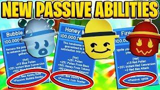 NOVAS habilidades passivas para máscara de mel + máscara de fogo + máscara de bolha em Roblox Bee Swarm Simulator