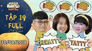 Ngôi sao khoai tây|tập 19 full: Mẹ con Tam Triều Dâng mừng húm vì được Gin Tuấn Kiệt bao ăn nhà hàng