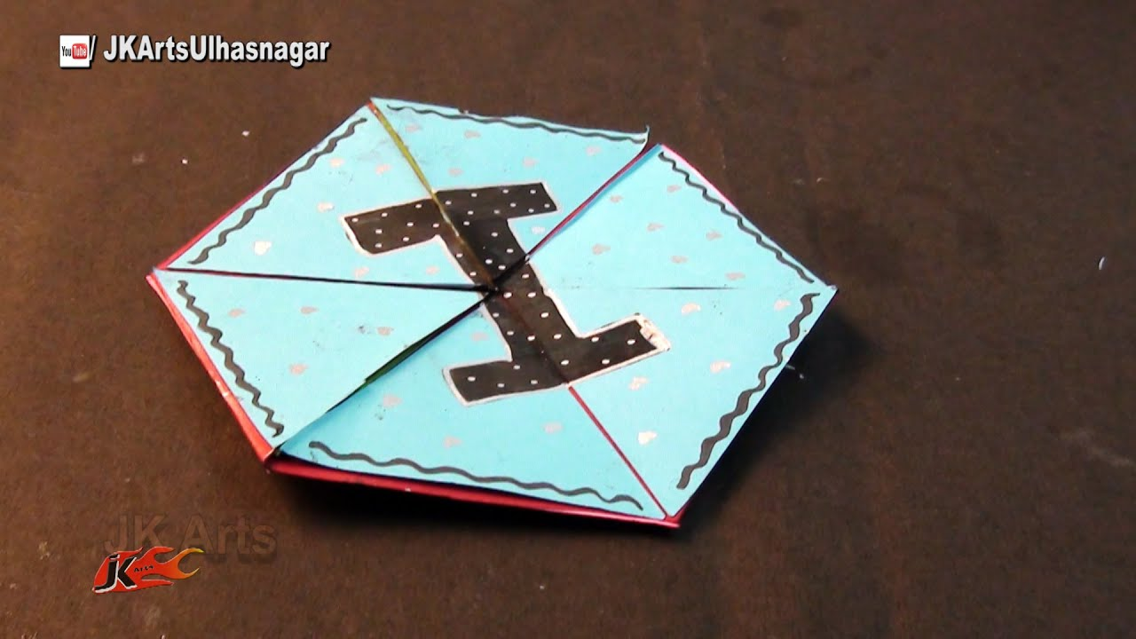 Hexagon Endless Card for Scrapbook