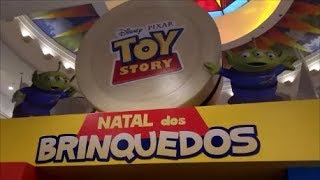 Natal Disney Toy Story - Norte Shopping - RJ
