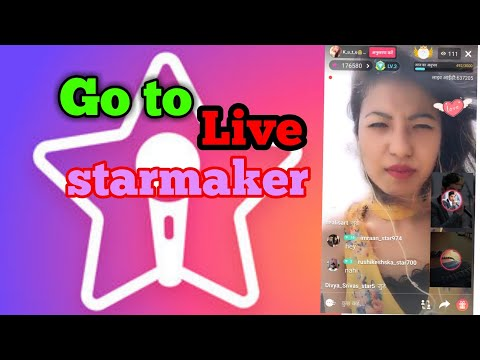 How To Go live on Starmaker broadcasting on live  kaise kare Starmaker ko live