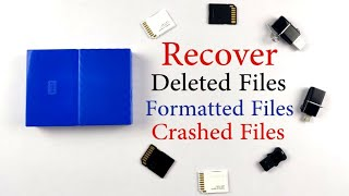 How to Recover Deleted Files from SD Card, Memory Card, Pen Drive, Harddisk