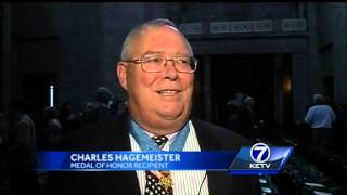 Plaque honoring Medal of Honor recipients unveiled in Nebraska State Capitol