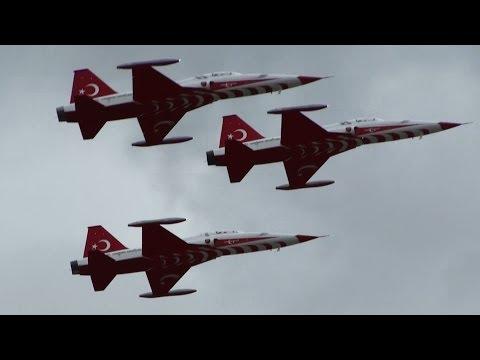 Turkish Stars Air Display at ILA Berlin Air Show 2012 (full HD)