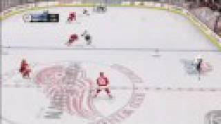 NHL 09 Xbox 360 Ice Fight Gameplay