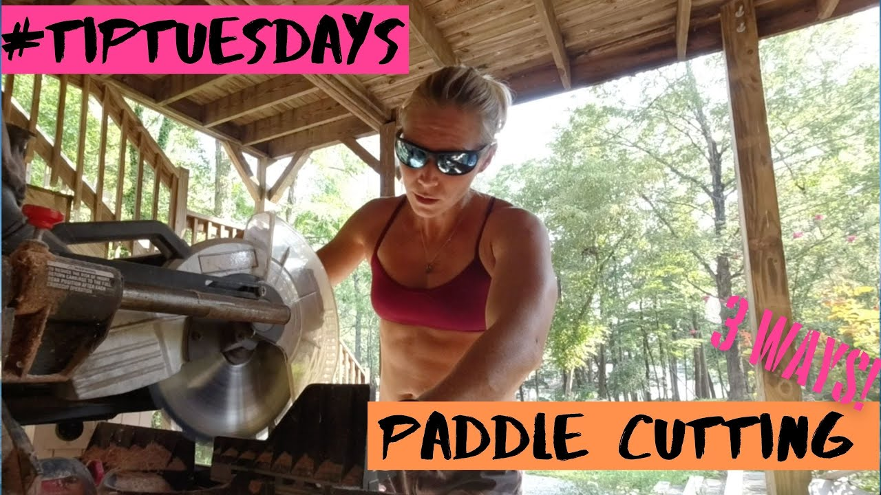 Paddle Shaft Cutting - 3 Styles