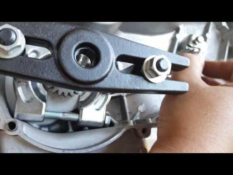 How to remove GY6 Kickstarter Gear, Stroker, Woodruff Keys, Oil Seal on 157QMJ