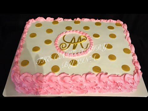 Pastel Para Baby Shower De Nina Youtube