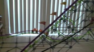 New K-nex Roller Coaster