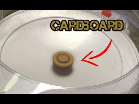 Making A Cardboard Beyblade That Works!