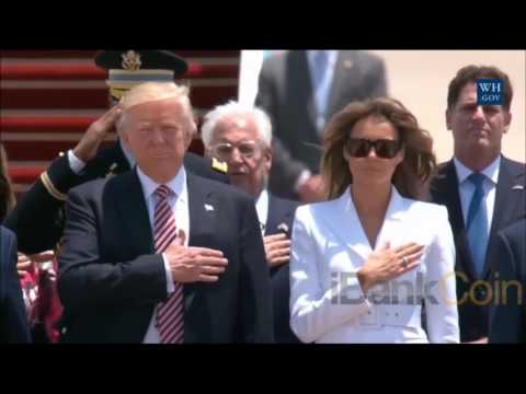 Israel Vs Palestine playing the national anthem of America