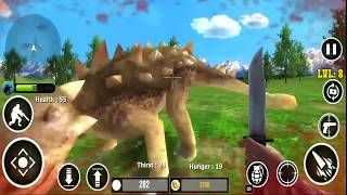Dinosaurs Hunter Free #17 | Android Gameplay | Android Games 2018 | Droidnation