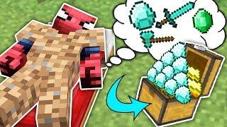 Fakir Örümcek Adam'ın Hayali - Minecraft Zengin vs Fakir Örümcek Adam Video