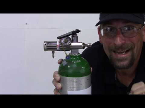 How to use an Oxygen tank?