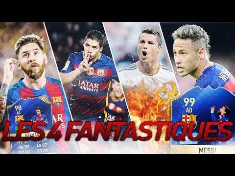FIFA 17 - LA MEILLEURE ATTAQUE DU JEU ! Les 4 Fantastiques ! streaming vf